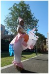 Inflatable Unicorn Suit
