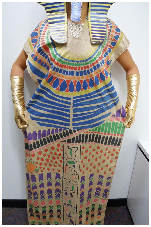 Tutankhamun tomb pattern