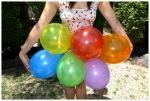 Balloon skirt up close
