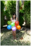 Balloon costume