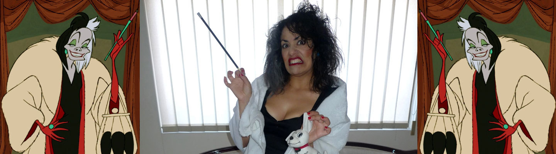 Cruella De Vil 101 Dalmatians Costume