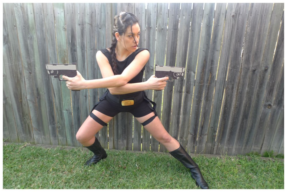 Getting my Tomb Raider on...