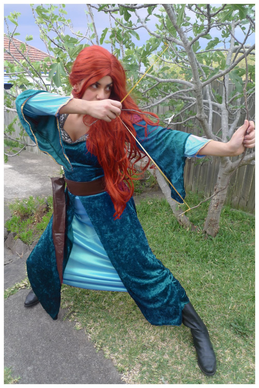 Merida from Brave costume