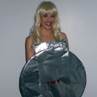 Blonde Bombshell Pun Costume