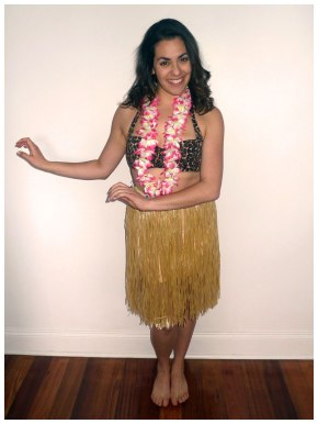 Hawaiian Hula Girl Costume