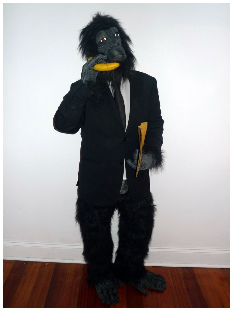 Monkey Business Pun Costume