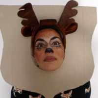 Mounted Deer Head Costume