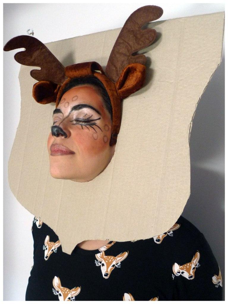 Mounted Deer Head Costume