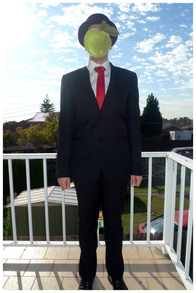 Rene Magritte 'Son of Man' Costume