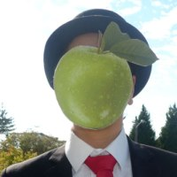 Rene Magritte 'Son of Man' Costume
