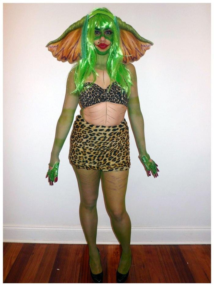 Sexy Female Gremlin Costume