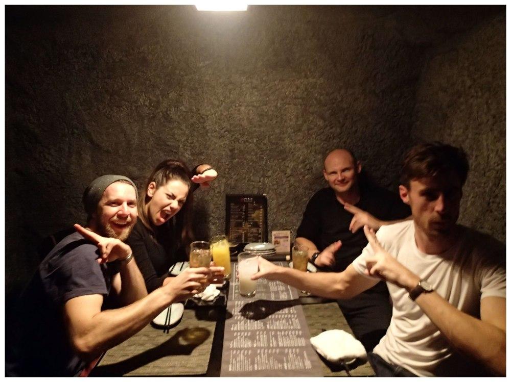 Ninja cave table