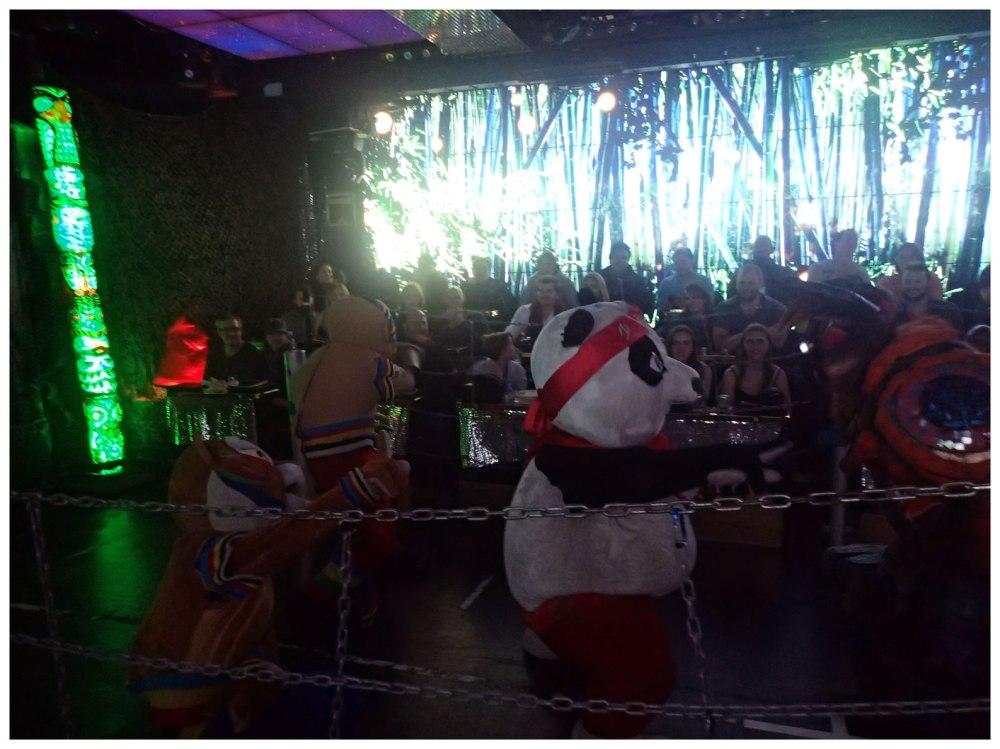 Kung-Fu Panda-esque characters