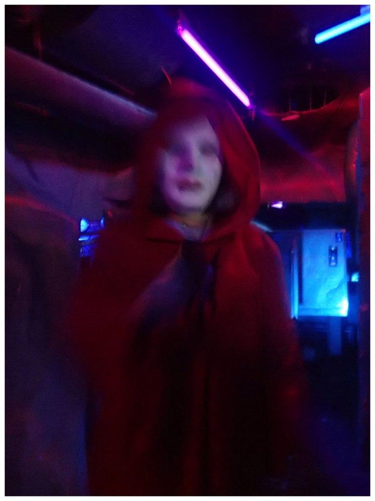 Creepy Red Riding Hood