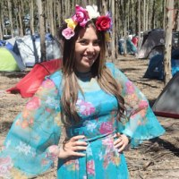 Forest Follies: Flower Goddess Costume