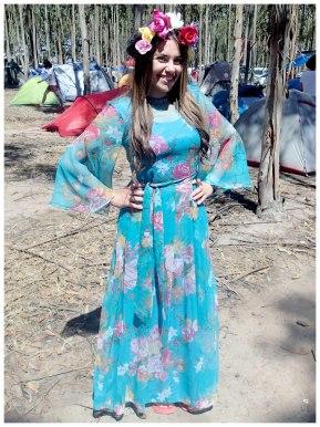 Flower Power Hippy costume