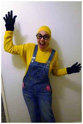 Getting my jazz hands on for the Minions