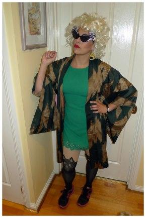 Retirement Party - Glamour Nana costume