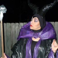 Maleficent Costume (Classic Cartoon Disney Style)
