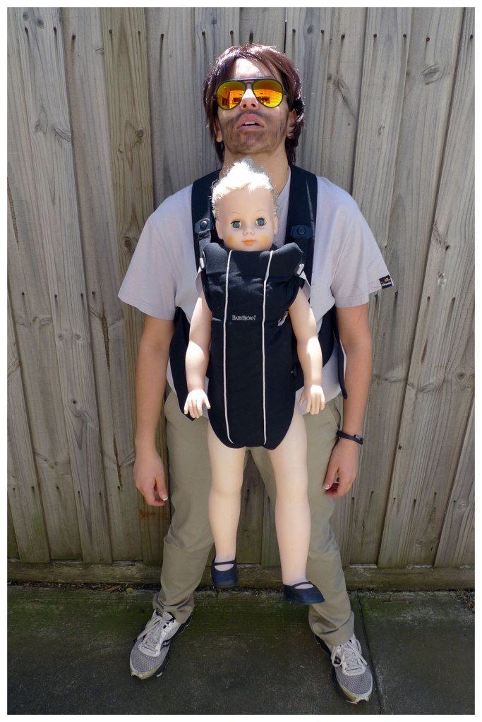 Alan with Baby from The Hangover Costume