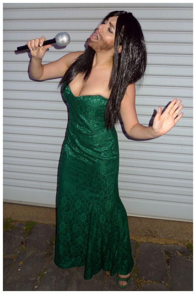 Conchita Wurst costume