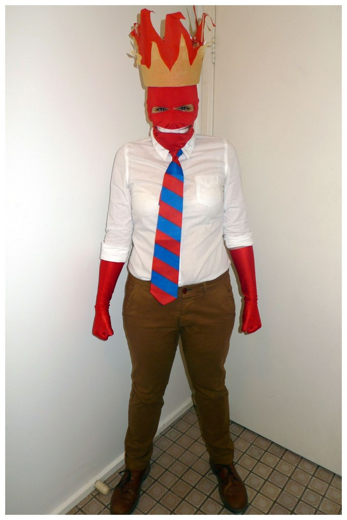 Inside Out Anger Costume