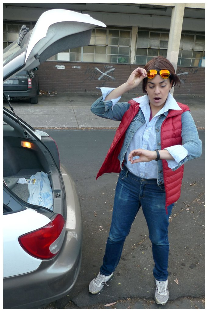 Marty McFly, Back to the Future, Costume