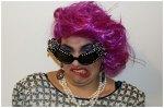 Dame Edna Costume Makeup