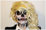Lady Gaga Skeleton Costume Makeup