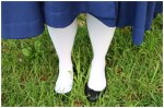Madeline white socks costume