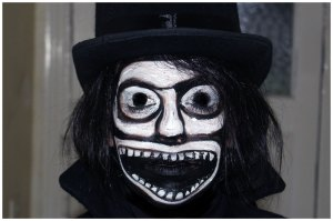 Babadook Monster Costume Makeup