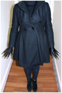 Babadook Monster Costume Outfit