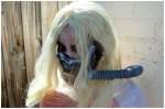 Immortan Joe from Mad Max: Fury Road Costume hair