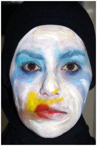 Lady Gaga Applause Costume Makeup