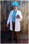 Rick from Rick and Morty Costume