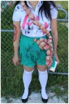 Killer Zombie Girl Scout Costume Outfit